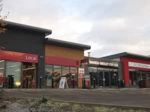 Church Gresley Retail Property